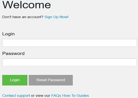 User Access Page