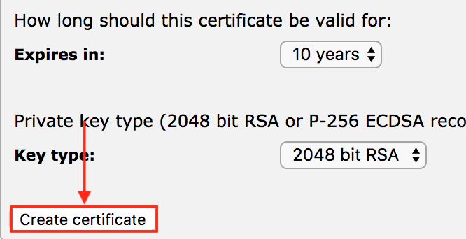 Pulse Secure Article: 5596 - How to create a certificate signing