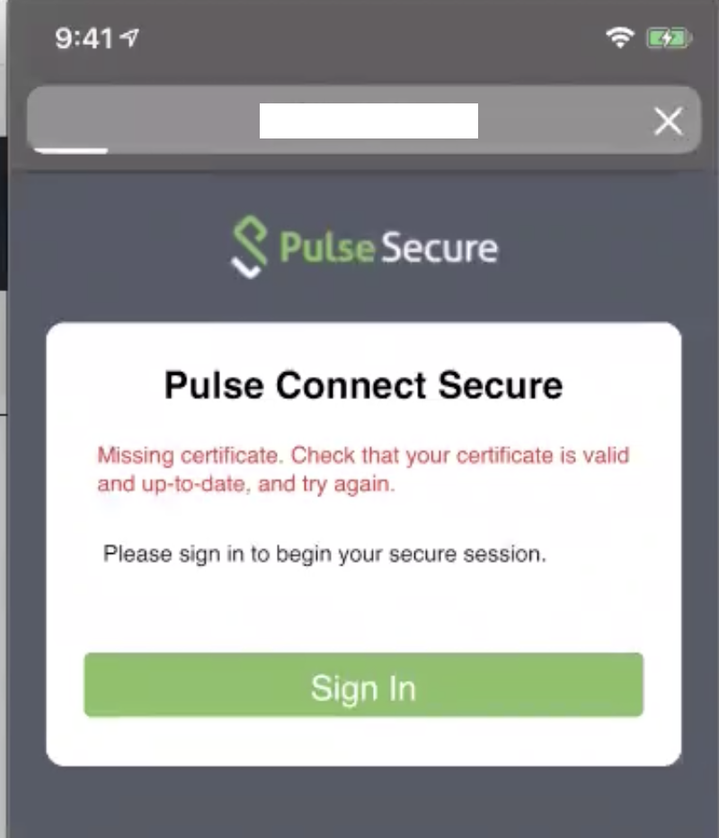 Pulse Secure Article: KB43871 - How to repush iOS profiles