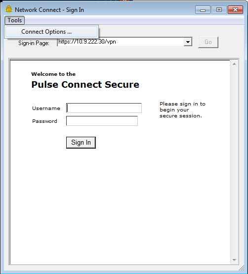 Pulse Secure Article: KB24712 - [PCS] How to logon to